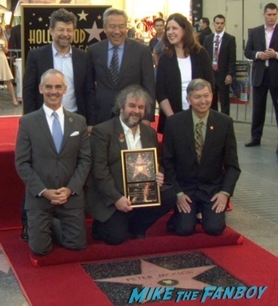 Peter Jackson Walk Of Fame Star Ceremony autograph signing 20
