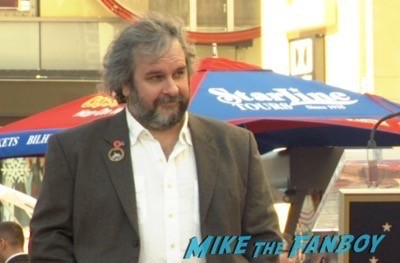 Peter Jackson Walk Of Fame Star Ceremony autograph signing 3