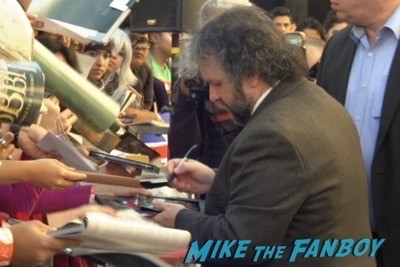 Peter Jackson Walk Of Fame Star Ceremony autograph signing 5