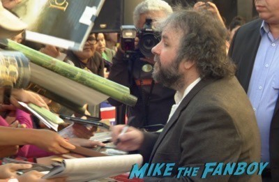 Peter Jackson Walk Of Fame Star Ceremony autograph signing 6