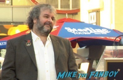 Peter Jackson Walk Of Fame Star Ceremony autograph signing 7