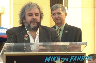 Peter Jackson Walk Of Fame Star Ceremony autograph signing 8