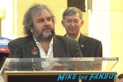 Peter Jackson Walk Of Fame Star Ceremony autograph signing 9