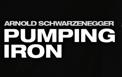 Pumping iron press still logo rare 1
