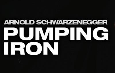 Pumping iron press still logo rare 1