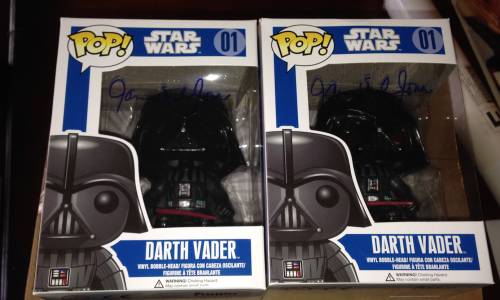 james earl jones signed pop vinyl