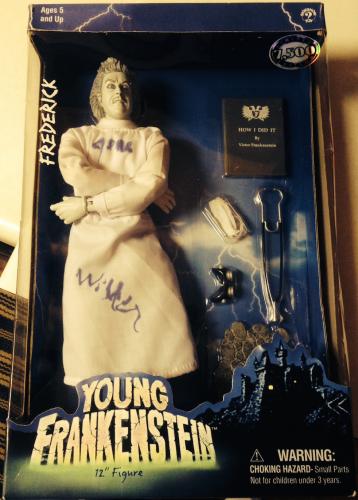 gene wilder signed young frankenstein doll