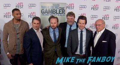 The Gambler LA Premiere red carpet mark wahlberg 9