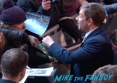 The Hobbit: The Battle of the Five Armies world premiere autograph 1