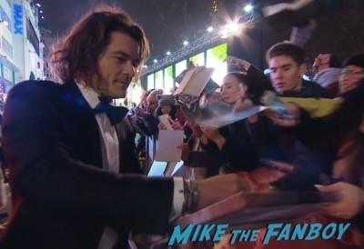 The Hobbit: The Battle of the Five Armies world premiere autograph 4
