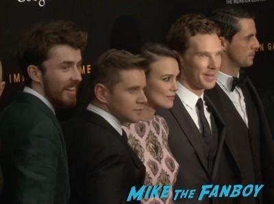 The Imitation Game New York Movie Premiere Benedict Cumberbatch 10