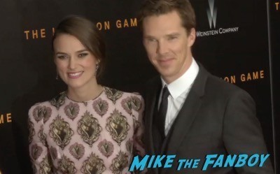 The Imitation Game New York Movie Premiere Benedict Cumberbatch 10