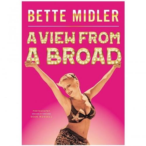 bette midler signed book autographbette midler signed book autograph