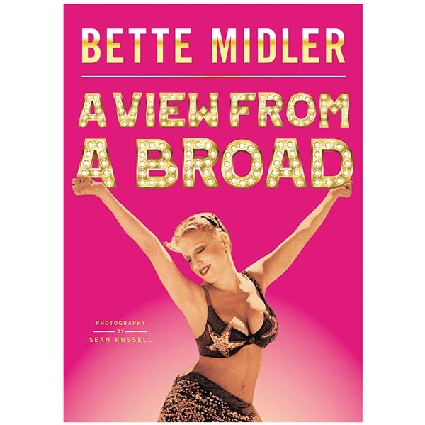 bette midler signed book autographbette midler signed book autograph