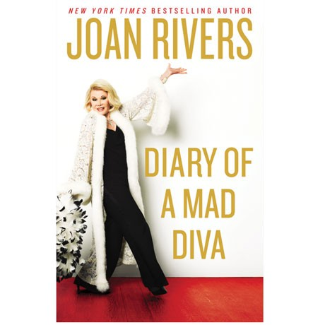 joan rivers signed autograph diary of a mad diva