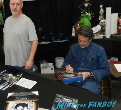 frank and son chris sarandon signing autographs cd barnes 5
