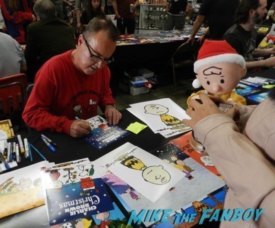 Peter Robbins frank and son chris sarandon signing autographs cd barnes 23