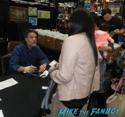 frank and son chris sarandon signing autographs cd barnes 5