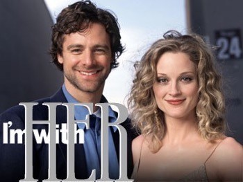 I'm with her logo poster Teri Polo fan photo meet and greet autograph 1