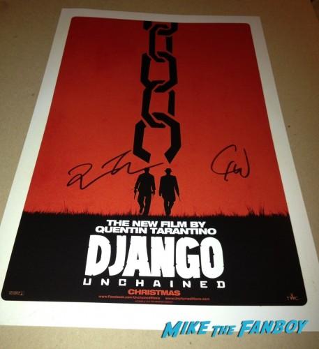Christoph Waltz Quentin Tarantino Star Ceremony Django Unchained Inglourious Basterds
