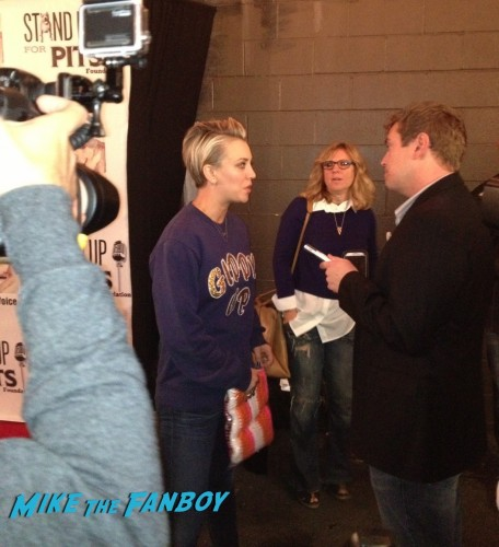 Kaley Cuoco Big Bang Theory Stand Up Paley Fest