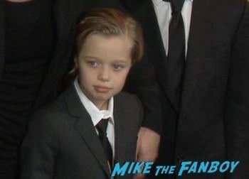 unbroken Los Angeles Premiere Brad Pitt Shiloh jolie pitt 11