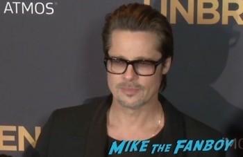 unbroken Los Angeles Premiere Brad Pitt Shiloh jolie pitt 8