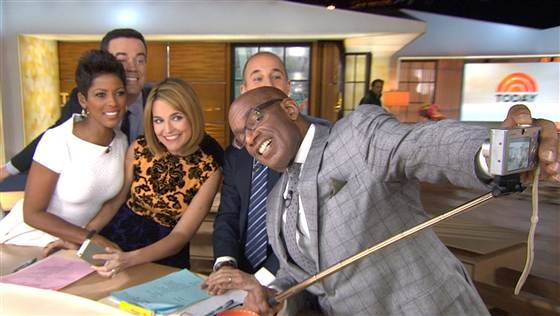 today show selfie stick