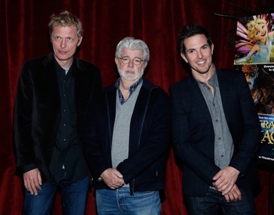 George Lucas, Alan Cumming, Evan Rachel Wood, Elijah Kelley, Meredith Anne Bull, Sam Palladio And Kristin Chenoweth Attend The New York Special Screening Of Lucasfilm's STRANGE MAGIC At The Tribeca Grand Hotel Hosted By The Cinema Society