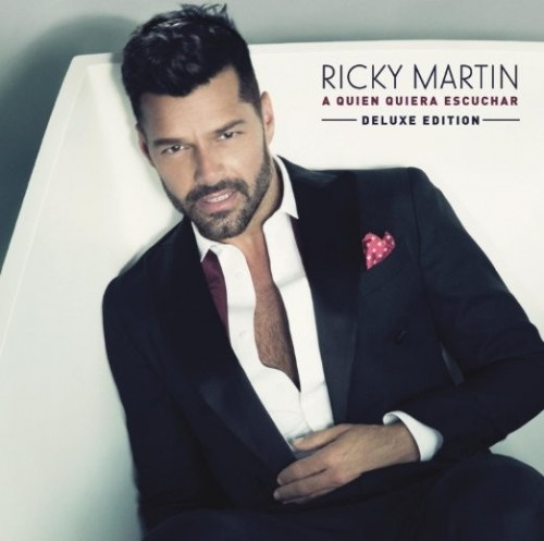ricky martin signed cd
