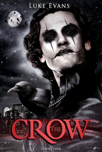Luke Evans the Crow