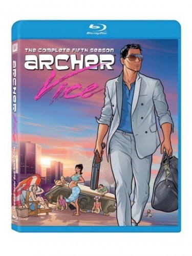 Archer season 5 blu-ray cover