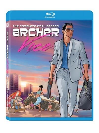 Archer season 5 blu-ray cover