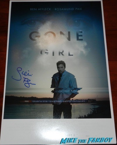 David Fincher signed autograph fight club panic room poster 7