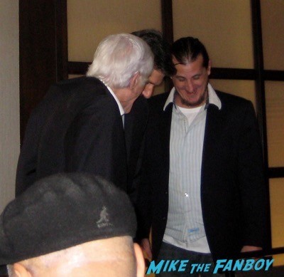 Dick Van Dyke signing autographs hollywood show fan photo 7
