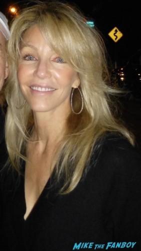 Heather Locklear golden Globe fan photo