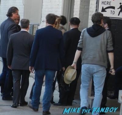 Johnny Depp disses fans jimmy kimmel live 2015 marion Cotillard 5
