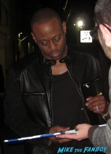 Omar Epps signing autographs jimmy kimmel live 2014 omar epps 1