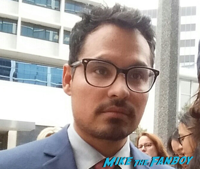Michael Pena fan photo selfie rare photo flop1