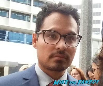 Michael Pena fan photo selfie rare photo flop1