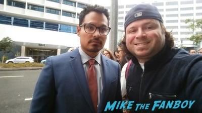 Michael Pena fan photo selfie rare photo flop2