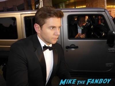 Palm Springs Film festival 2015 allen Leach signing autographs 1