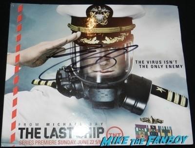 eric dane signed the last ship presskit
