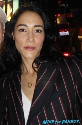 Sandrine holt golden globe fan photo