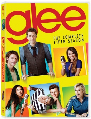 glee the complete fifth season dvd cover