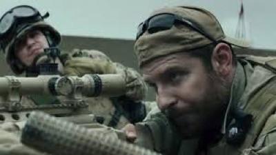 american Sniper press still
