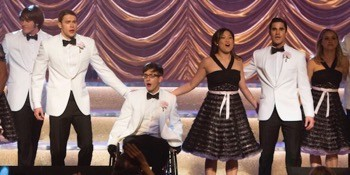 "GLEE: The members of New Directions perform at Nationals in the ""City of Angels"" episode of GLEE airing Tuesday, March 11 (8:00-9:00 PM ET/PT) on FOX. ©2014 Fox Broadcasting Co. CR: Adam Rose/FOX"