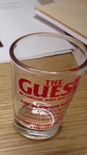 the guest shotglass