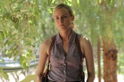 THE BRIDGE -- Pictured: (L-R) Diane Kruger as Sonya Cross,  Demian Bichir as Marco Ruiz - CR: Kurt Iswarienko/FX