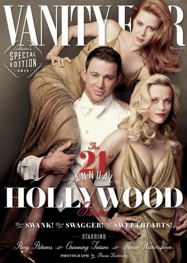 Vanity Fair Hollywood Issue 2015 channing tatum amy adams